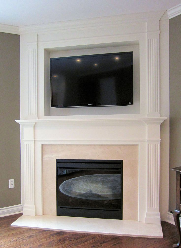 1000 Ideas About Modern Fireplace Mantels On Pinterest