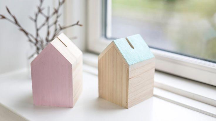 DIY: Personal money box by Søstrene Grene