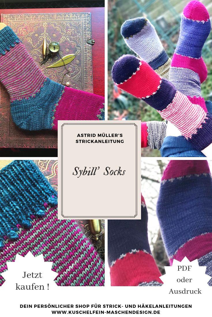 Strickanleitung Sybill's Socks von Astrid Müller