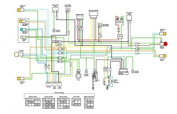 Index Php 620 401 Motorcycle Wiring Diagram Honda