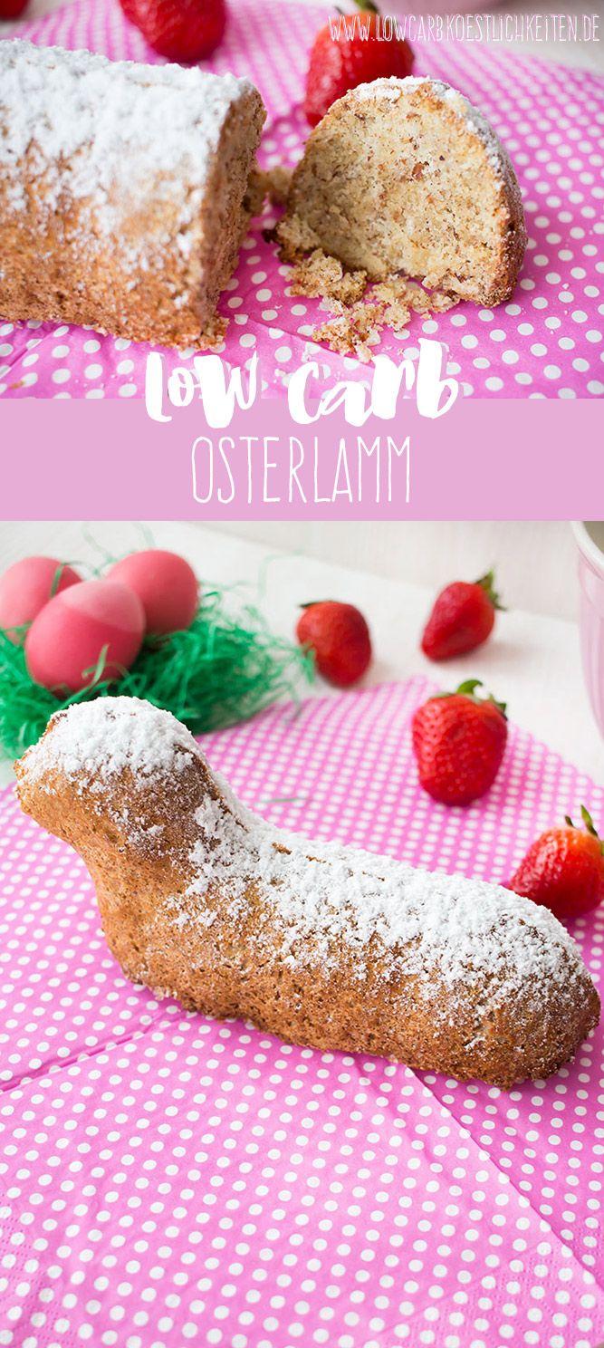 Low Carb Osterlamm, glutenfrei www.lowcarbkoestlichkeiten.de #ostern