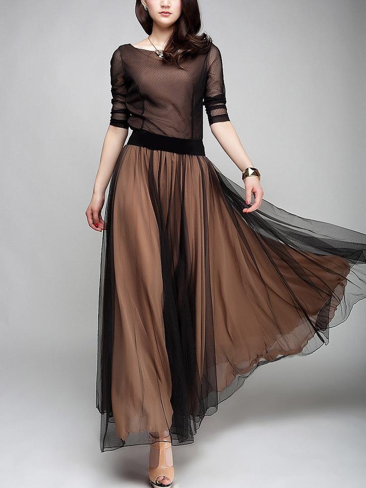 Full Skirt Long