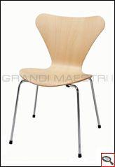Sedia Seven Arne Jacobsen   Jacobsen Seven chairs