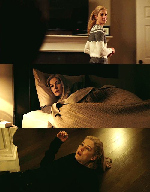 Beauty Lighting not always on face...Gone Girl, David Fincher, 2014