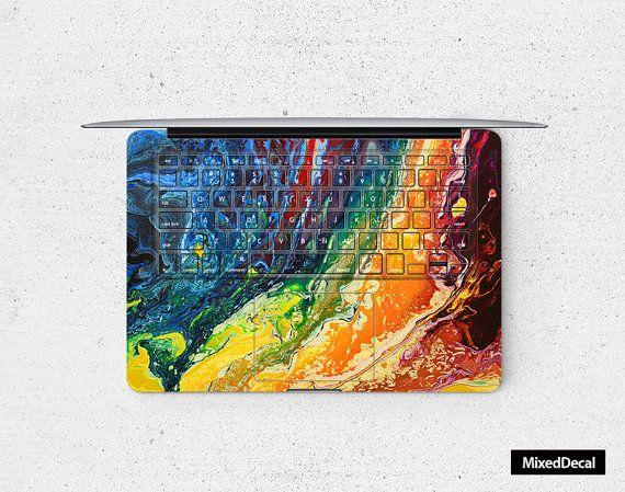 keyboard decal macbook keyboard cover macbook by MixedDecal