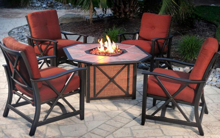 red-agio-patio-furniture-wooden-with-fire-place-table