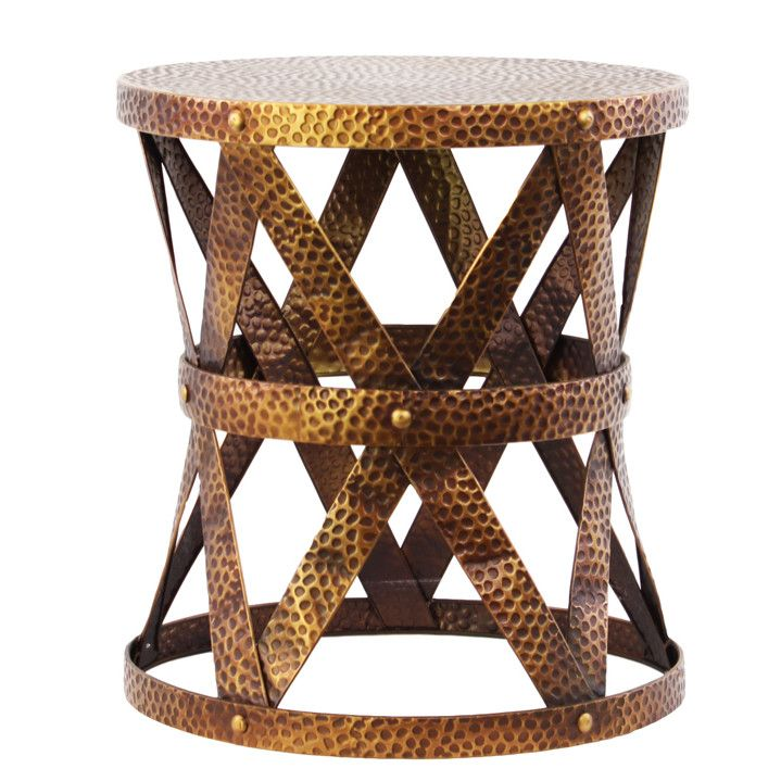 Urban Trends Small Round End Table. Wayfair $110
