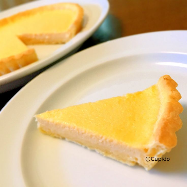 Baked Tofu Cheese Tart of Rice Flour1_©Cupido