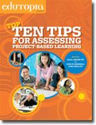 Twenty Tips for Managing Project-Based Learning | Edutopia: a resource for perfecting project-based learning as a strategy for teaching social studies;  assessment being a key focus of providing structure and accountability in open learning environments.