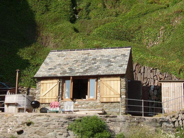Beach hut, Devon....