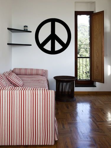 Exceptional Peace Sign Wall Decal Wall Sticker