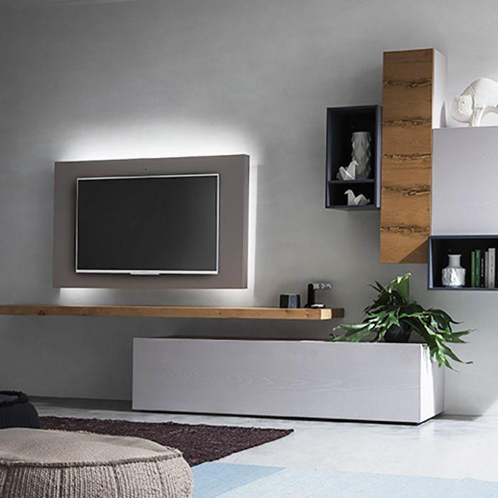 Logic Suspended Swivelling Tv Stand Diotti Com Meubles De Salle A Manger Moderne Meuble Tv Suspendu Meuble Suspendu Salon