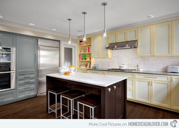 15 Dainty Cream Kitchen Cabinets