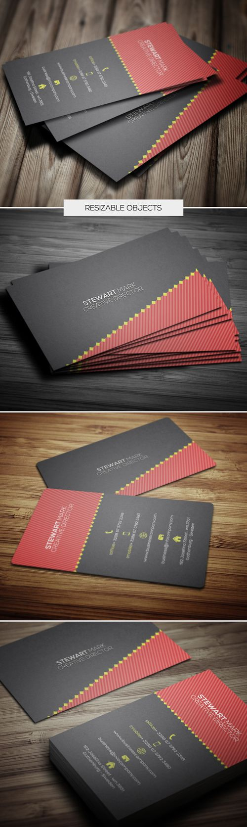 Examples business cards - Designer Business Card Businesscards Businesscardsdesign Corporatebusinesscards