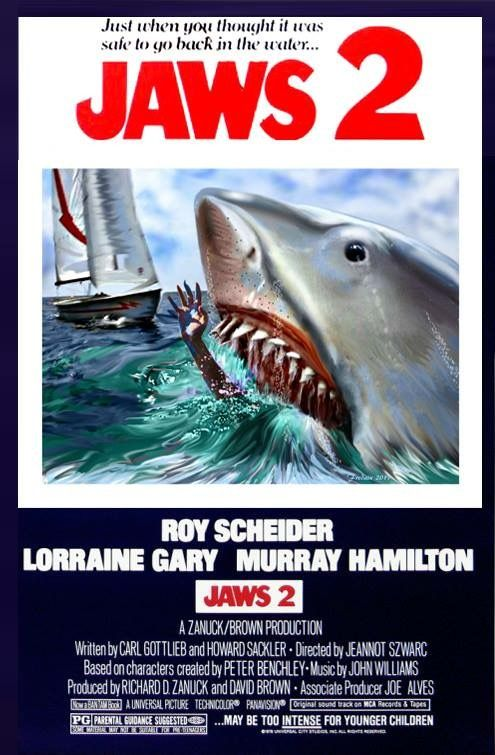 Jaws 2 Movie Poster..........