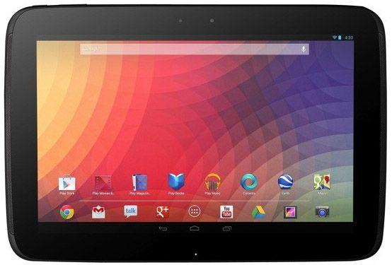 Google presenterar surfplattan Nexus 10 i samarbete med Samsung