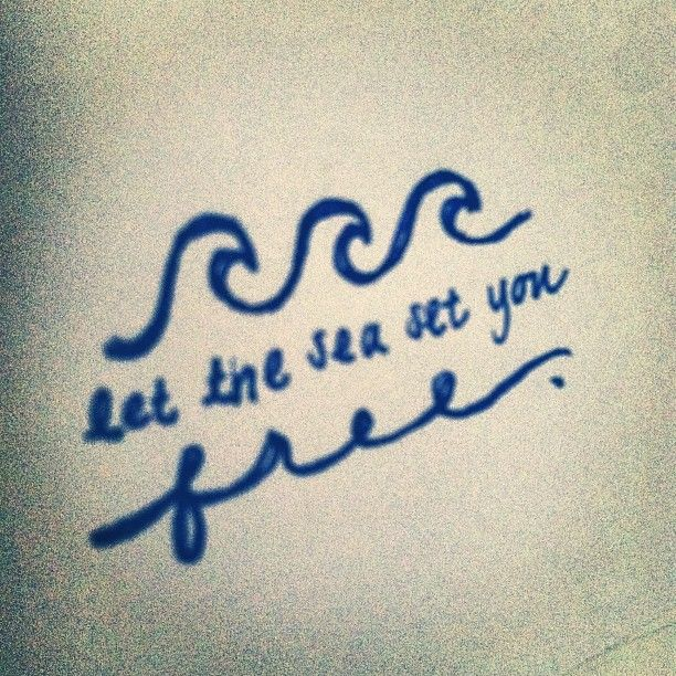 ocean quotes tattoos - photo #12