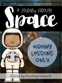 This is just a portion of my complete space unit, with only the writing lessons. Each of these writing activities is designed for kindergarten, first grade, and second grade students, and includes informative writing, narrative writing, poetry writing, and letter writing all about space!