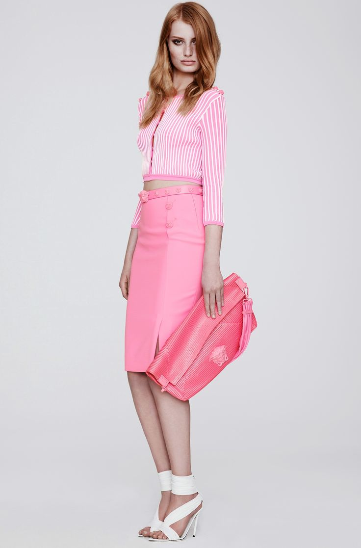 Cute #outfit with pink #pastel  #pink