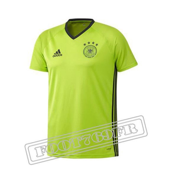 Maillot Pre-Match: Ensemble Training Allemagne Jaune 2016 2017 -Foot769Fr
