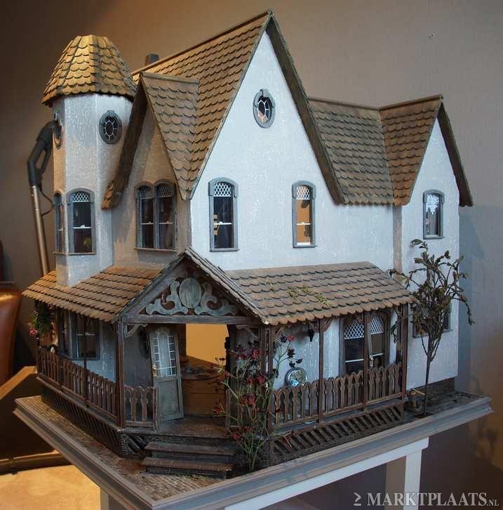 Marktplaats.nl > victoriaans greenleaf poppenhuis te koop - Verzamelen - Poppenhuizen en Toebehoren
