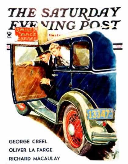 Saturday Evening Post - 1934-11-24: Flat Tire, Flat Evening (Ellen Pyle)