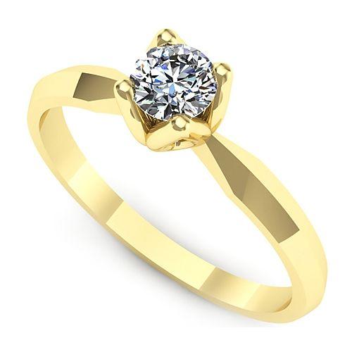 Inel logodna L41GDI Inel cu diamant