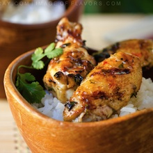 Cilantro & Lime Chicken Wings by @Wok with Ray