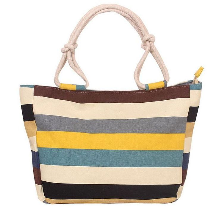 Best 25  Canvas beach bags ideas on Pinterest