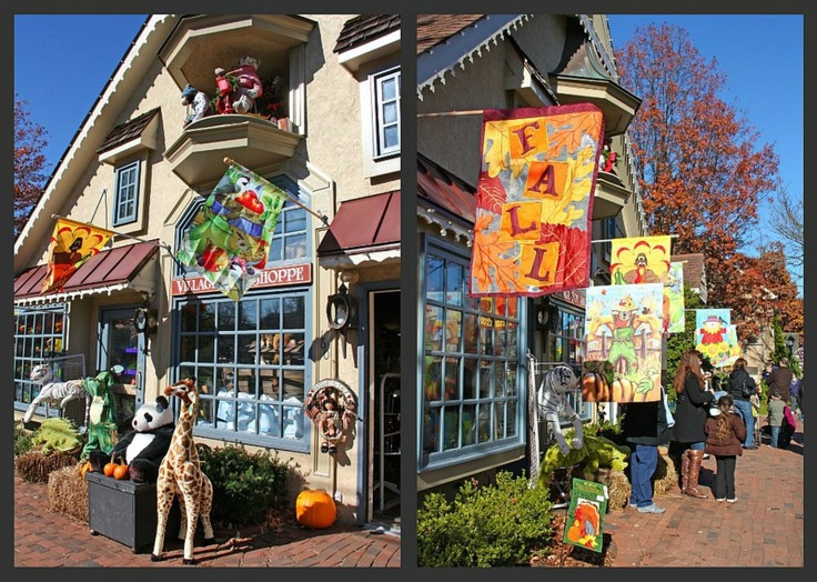 Peddlers Village Lots Of Ping And Dining Here Park Your Car Stretch