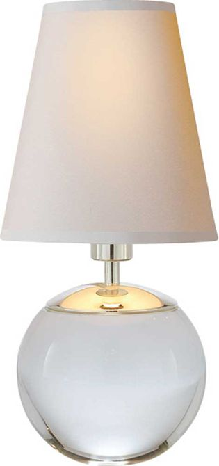 The tiny terri accent lamp is a contemporary light fixture for any room this table lamp has a natural paper shade luxe home a philadelphia modern