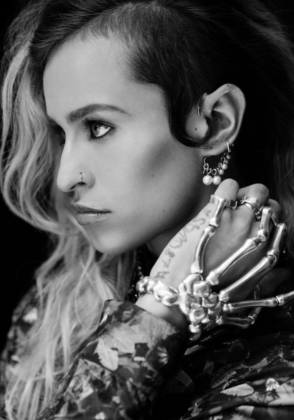 Alice Dellal. a high fashion runway and editorial model. 5'6""