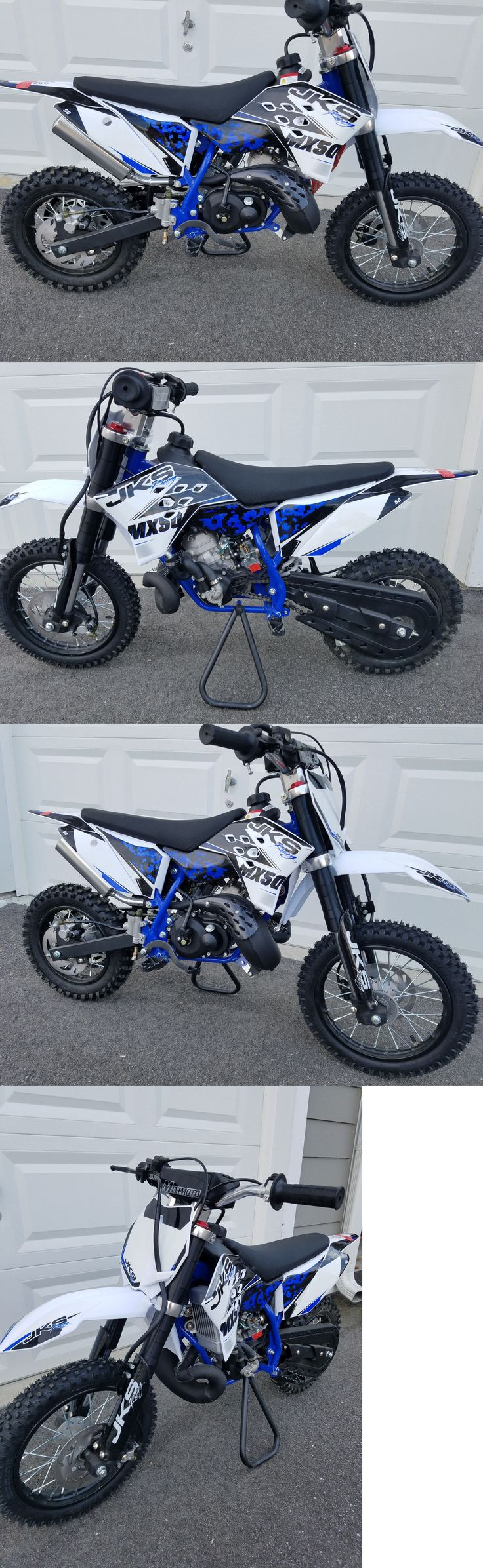 Other Scooters 11329: 49Cc 50Cc Dirt Bike Jks Racing Mx-50 Nitro Nrg Water Cooled -> BUY IT NOW ONLY: $1320 on eBay!