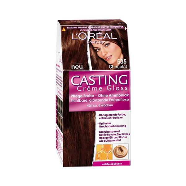 Casting Creme Gloss 535 Chocolat #ClassicChic #Hairstyle