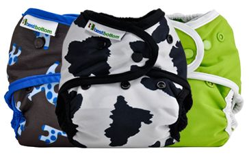 Best Bottoms Diapers, affordable cloth diapers and adorable prints. $16.95 Bulk pricing avail.