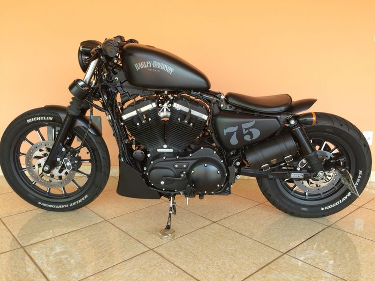 Harley Davidson 883 Iron 2015