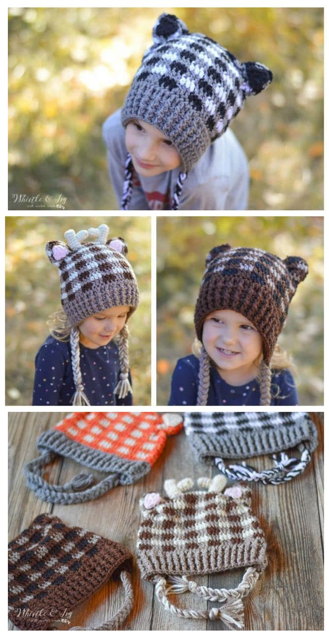 10 CROCHET HAT PATTERNS | crochet | Pinterest