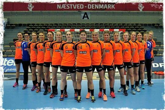 The Dutch National Handbal Team!!