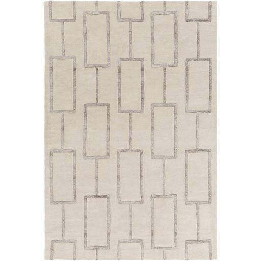 Geometric square rug at Avenue Design Canada