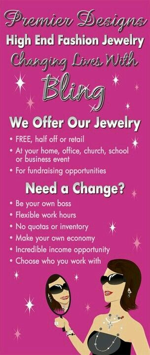 Hosting A Premier Designs Event And Earning FREE JEWELRY Or Become A Premier  Diva And Give Other Women FREE JEWELRY While Earning Extra Income And ...