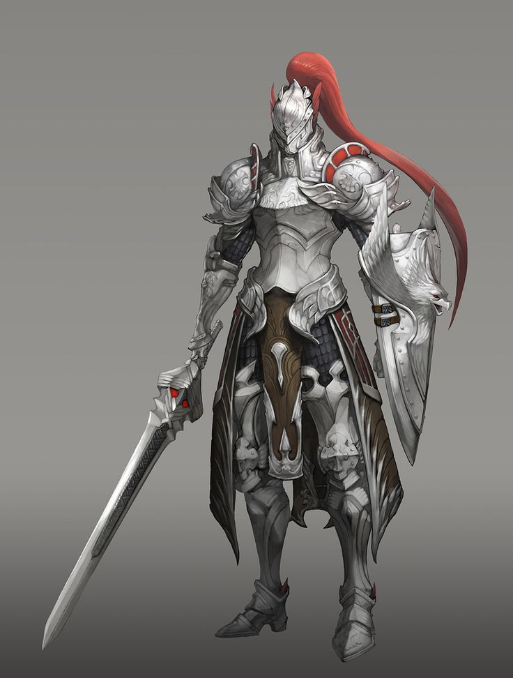 기사_knight, Yong Hwan Shin on ArtStation at https://www.artstation.com/artwork/xraoO