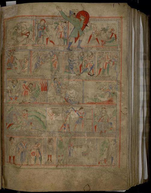 Un cómic medieval