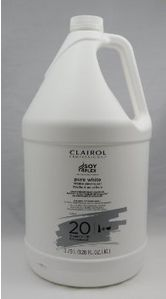 Clairol Pure White 20 Volume Gallon Ea  BMX-104918