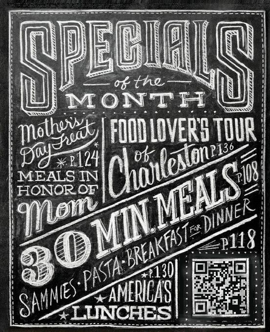 1000+ images about Chalkboards on Pinterest | Typography ...
