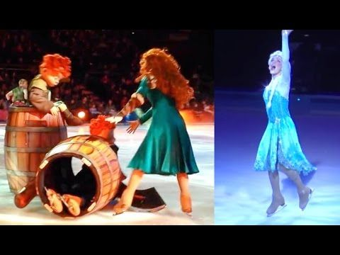 TOP DISNEY FAILS Pt 3- DISNEY ON ICE FALL COMPILATION | Disney Fail | Frozen Disney on Ice - YouTube
