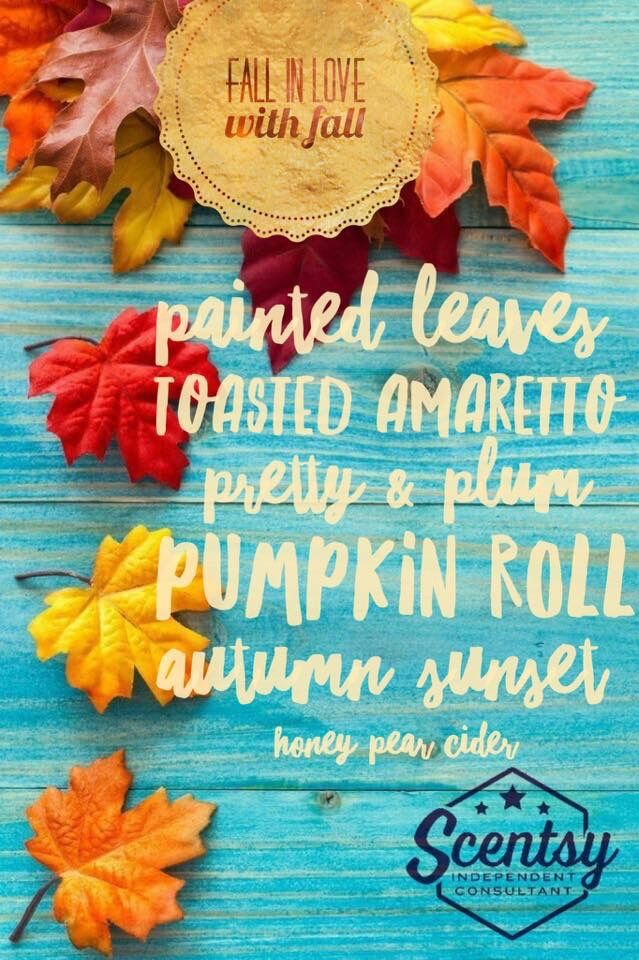 Fall!!! www.WicklessScentsation.scentsy.us