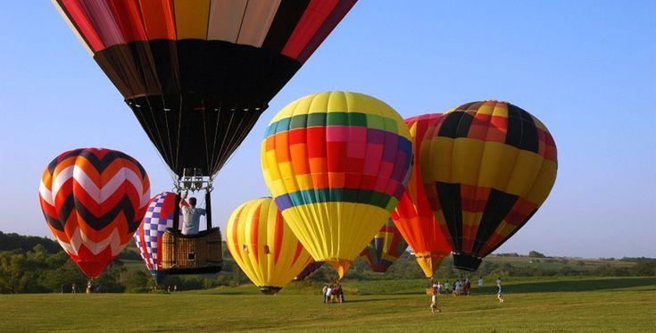 Ballonfahren in Jülich Raum Linnich in NRW #Himmel #Ballonfahrt #Geschenk