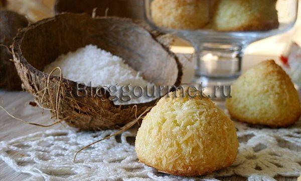 Рецепт ароматного кокосового печенья