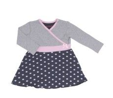 Dress grey blue star
