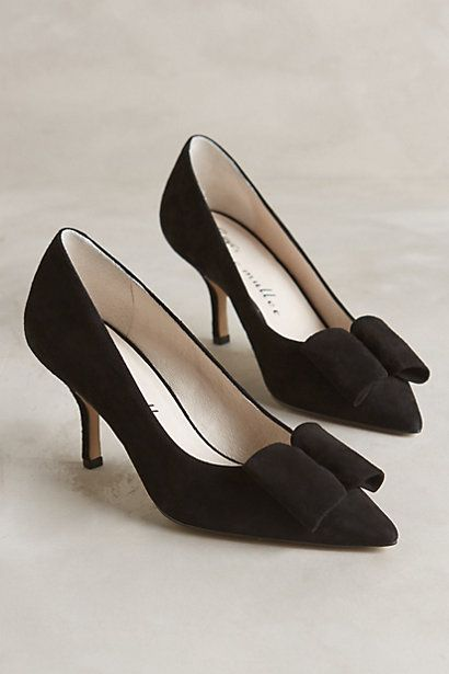 bow heels  #holidaystyle #anthrofave